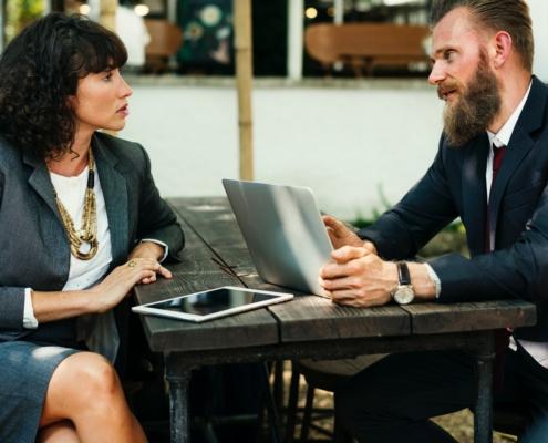 Neon Blue Determine Business Maturity
